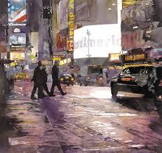 how to paint a rainy city by john salminen