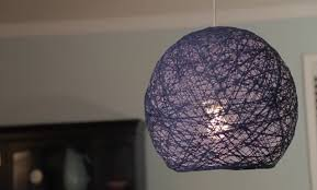 Diy Lantern Lights Diy Lshade How To Make Yarn Globe Lanterns String Lights
