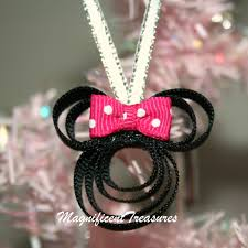 minnie mouse tree ornament