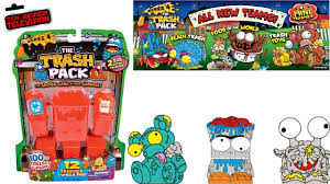 trash pack series 4 12 pack trashies toy review unboxing