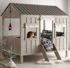 cabane enfant chambre lit design cabane chambre enfant par restoration hardware