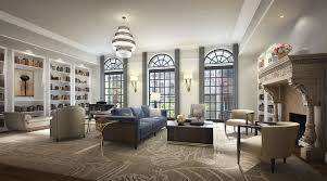 living room in mansion 33 east 74th street