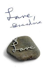 custom handwriting necklace custom handwriting necklace personalized necklace