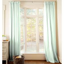 Mint Colored Curtains Solid Icy Mint Drape Panel Carousel Designs