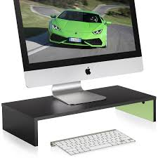 Laptop Riser For Desk Fitueyes 21 3inch Green Computer Monitor Stand Monitor Riser Laptop