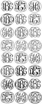 create monogram initials build several monograms save and then trace free online can