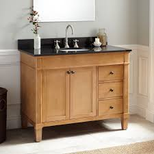 42 Inch Bathroom Cabinet 42 Marilla Oak Vanity Bathroom