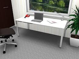 Schreibtisch Extra Breit Schreibtisch E10 Mit Verchromtem Gestell Feste Höhe