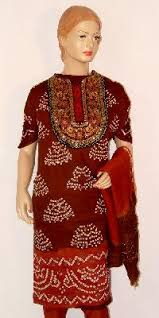 dress pattern of gujarat bandhani suits in gujarat manufacturers and suppliers india