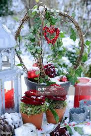 Outdoor Christmas Decorations Candles by Outdoor Christmas Table Decorations Of Decorated Trained Ivy