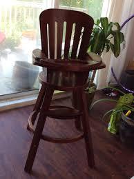 Wooden High Chair For Sale 2017 August Dartlist