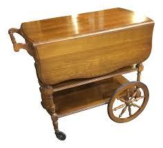Pennsylvania House Cherry Dining Tea Cart Chairish - Pennsylvania house dining room set