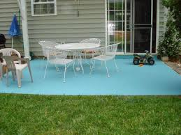 Cement Patio Table Delightful Cement Patio Table Paint Ideas Painting Concrete Patios