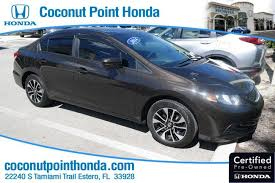 used 2014 honda civic sedan for sale estero fl