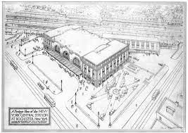 New York Map Rochester by Rochestersubway Com Left For Dead Rochester U0027s Union Depot