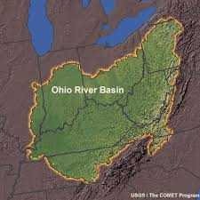 ohio river valley map ohio river basin tularosa basin 2017