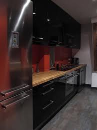 cuisine orange et noir cuisine noir et orange outil intéressant votre maison