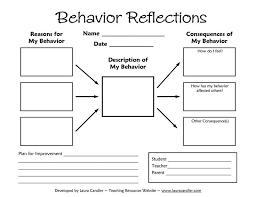 best 25 behavior reflection sheet ideas on pinterest behavior