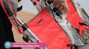 baby jeep wrangler macrobaby jeep wrangler twin sport stroller youtube