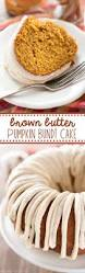 brown butter pumpkin bundt cake crazy for crust