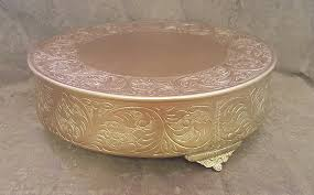 gold cake stands rentals bavarian cakery