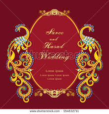 shadi cards hindu wedding card stock images royalty free images vectors