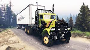 peterbilt peterbilt for spintires download for free