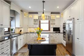 Granite For White Kitchen Cabinets Kitchen Dark Floors White Cabinets Granite Kitchens With White