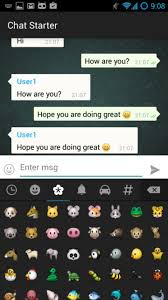 keyboard emojis for android emoji keyboard and chat bubbles in android madhur ahuja
