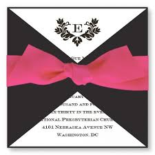 Wedding Programs With Ribbon Stylish Wedding Invitations Available In 4 Colors