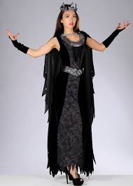 Gothic Womens Halloween Costumes Halloween Gothic Dead Queen Costume