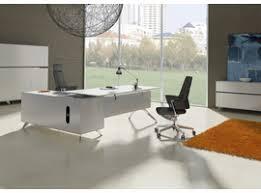 White Lacquer Credenza Jesper Office 400 Series