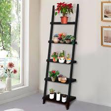 Tiered Bookshelf Ladder Shelf Home U0026 Garden Ebay