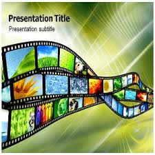 amazon com digital film ppt powerpoint template film
