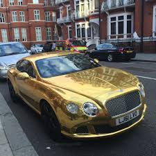 bentley car gold chrome gold bentley cgt madwhips