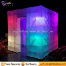 Inflatable Photo Booth Inflatable Photobooth Tent With Led Two Doors Inflatable Portable