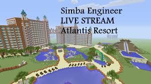 Atlantis Bahamas Map Atlantis Resort Hotel Water Park Build Live Stream Minecraft