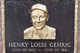 on this day in 1939 lou gehrig benched himself a hunt and peck
