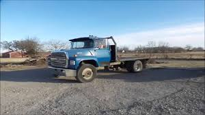 1987 ford ln8000 flatbed truck for sale no reserve internet