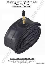 chambre air velo chambre à air 600x45b 600x50b valve vélo presta pièces détachées