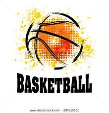 vector grunge basketball tshirt poster stock vector 295315580