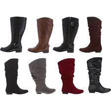 womens duck boots payless leather wide calf boots for plus size s fashion