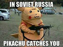 Funny Pikachu Memes - russian pikachu meme slapcaption com funny pikachu pinterest