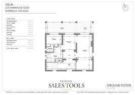 standard floor plans in b w property sales tools villa los naranjos golf ii