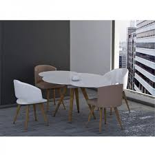 italian extendable dining table myles circular extending dining table