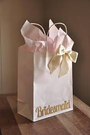 bridesmaid gift bag bridesmaid gift bags large white paper bags with handle