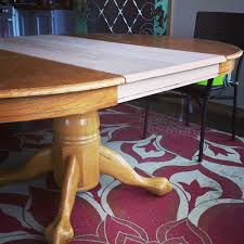 Dining Room Sets With Leaf Old Table New Leaf Updating My Dining Area Killer B Designs