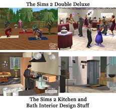 the sims 2 kitchen and bath interior design the sims 2 double deluxe kitchen and bath interior design stuff