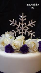 snowflake cake topper awesome snowflake wedding cake toppers contemporary styles