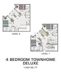 four bedroom townhomes deluxe 4 bedroom townhome sold out hannah lofts and townhomes